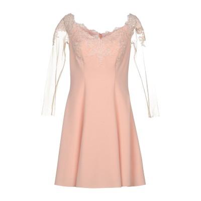 FOREVER UNIQUE ミニワンピース&ドレス サーモンピンク 6 97% ポリエステル 3% ナイロン ミニワンピース&ドレス