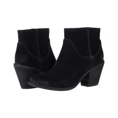 Sofft ソフト レディース 女性用 シューズ 靴 ブーツ アンクル ショートブーツ Taylie Waterproof - Black Cow Suede