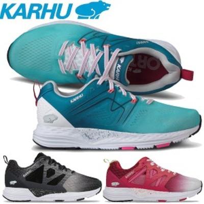 カルフ(KARHU)スニーカー ランニングシューズ FUSION ORTIX フュージョンオルテックス KH2002 マラソン ランニング【レディース】