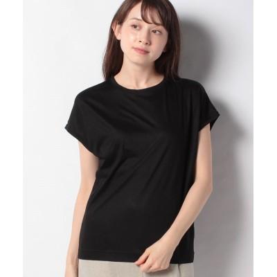【ジャスグリッティー】 ★ゆるTシャツ レディース ブラック 2 JUSGLITTY