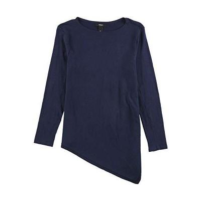 Alfani Womens Knit Pullover Sweater, Blue, PXS並行輸入品 送料無料