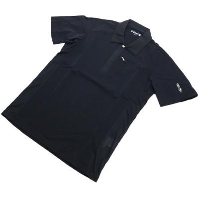 ホンマゴルフ 本間ゴルフ メンズ−ポロシャツ 931-735104 700 BK ブラック golf-01 sp-02 父の日