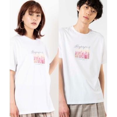WEGO / WEGO/シティーフォトTシャツ MEN トップス > Tシャツ/カットソー