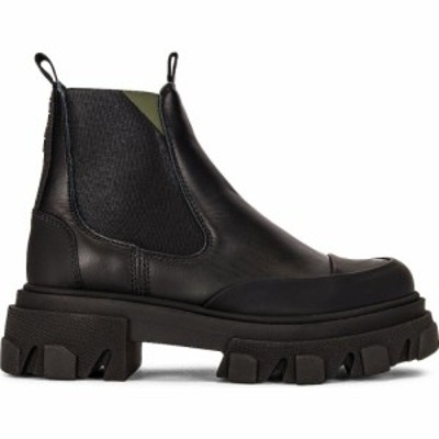 ガニー Ganni レディース ブーツ シューズ・靴 Calf Leather Boot Black