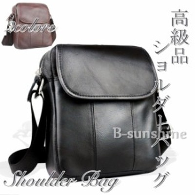ショルダーバッグ メンズ 本革バッグ 柔らかい素材 本革バッグ 2色 斜めがけ レザーバッグ 軽量 大容量 ビジネスバッグ