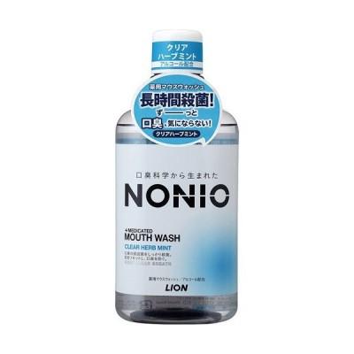 [ライオン]NONIO(ノニオ) マウスウォッシュ クリアハーブミント 600ml
