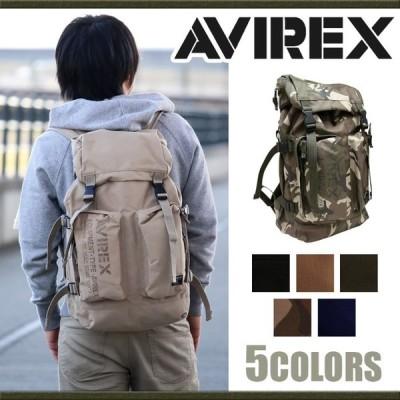 リュックサック AVIREX アヴィレックス アビレックス ミリタリー リュック デイパック バックパック EAGLE メンズ レディース ブランド サイドジッパー