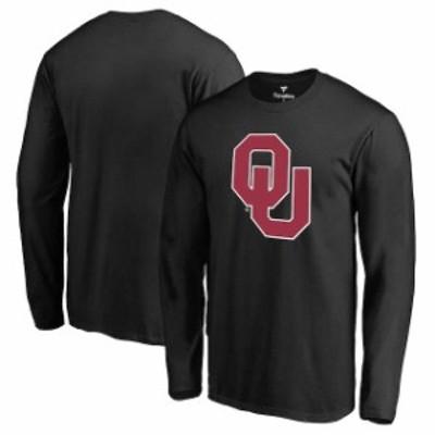 Fanatics Branded ファナティクス ブランド スポーツ用品  Fanatics Branded Oklahoma Sooners Black Primary Logo Lon