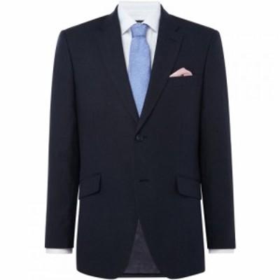 ハウィック Howick Tailored メンズ スーツ・ジャケット アウター Shorewood Linen Suit Jacket Navy