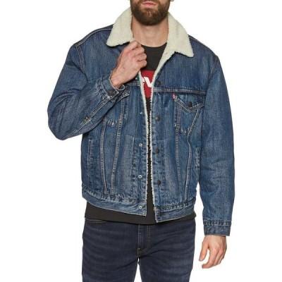 リーバイス Levi's メンズ ジャケット アウター Vintage Fit Sherpa Trucker Jacket V/Dark/Sherpa