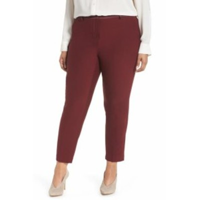 Nordstrom ノードストローム ファッション パンツ Sejour NORDSTROM Womens Dress Pants Red Size 16W Plus Front-Tab Stretch #315