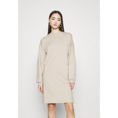 ニリーバイネリー ワンピース レディース トップス PERFECT SLIT DRESS - Day dress - beige
