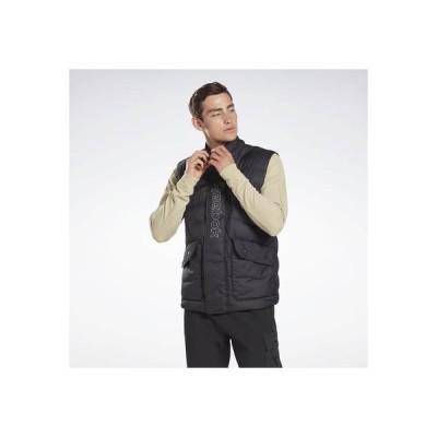 リーボック Reebok アウターウェア パファ ベスト / Outerwear Puffa Vest (ブラック)