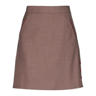 CRISTINAEFFE ひざ丈スカート サンド 46 ポリエステル 53% / バージンウール 43% / ポリウレタン 4% ひざ丈スカート
