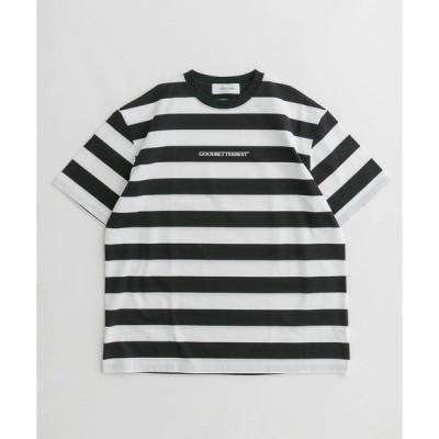 tシャツ Tシャツ GOODBETTERBEST ワイドピッチボーダーT-SHIRTS