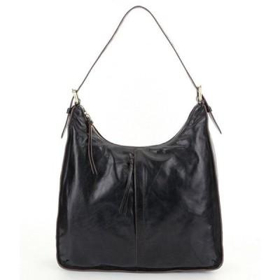 ホボ レディース ショルダーバッグ バッグ Marley Leather Hobo Bag
