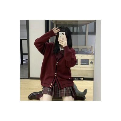 【送料無料】レトロ カレッジ風 タータンチェックのスーツ 女 秋冬 韓国風 | 346770_A64538-8285183