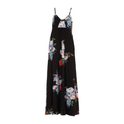 ANTONIO MARRAS ロングワンピース&ドレス ブラック 40 ポリエステル 97% / ポリウレタン 3% ロングワンピース&ドレス