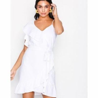 リバーアイランド パーティードレス sl waisted dress White