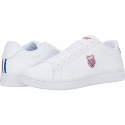 ケースイス K-Swiss メンズ スニーカー シューズ・靴 Court Shield White/Corporate