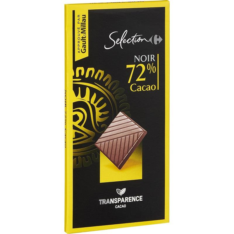 家福精選特黑巧克力72