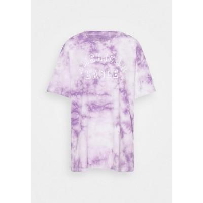 アメリカンイーグル Tシャツ レディース トップス BRANDED FASHION LENNON TEE - Print T-shirt - purple