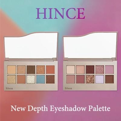 ヒンス hince  ニューデプスアイシャドウパレット #オフバランス/#ジェントルファーム New Depth Eyeshadow Palette