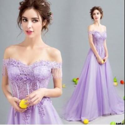 ウエディングドレス 二次会 結婚式 披露宴 司会者 舞台衣装 花嫁 ロング