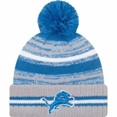 ニューエラ New Era メンズ ニット 帽子 Detroit Lions Sideline Sport Knit