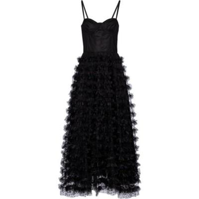 REDV レディース パーティードレス ビスチェ ワンピース・ドレス redvalentino bustier tulle gown Nero