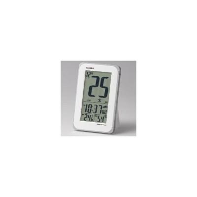 8RZ139-003 リズム時計 CITIZEN 電波デジタル目ざまし時計 スマートコートS:リズム時計