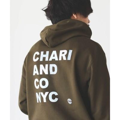 パーカー CHARI&CO × BEAMS T / 別注 ANIMAL LOGO HOODY
