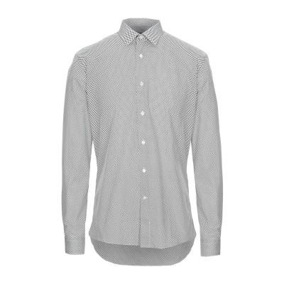 UNGARO シャツ ブラック 45 コットン 100% シャツ