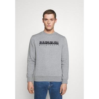 ナパピリ パーカー・スウェットシャツ メンズ アウター BEBEL - Sweatshirt - med grey mel