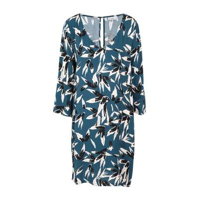 MINIMUM ミニワンピース&ドレス ディープジェード 36 レーヨン 100% ミニワンピース&ドレス