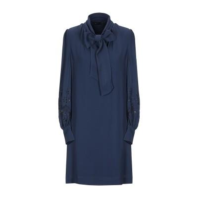 フレンチコネクション FRENCH CONNECTION ミニワンピース&ドレス ダークブルー 10 100% レーヨン ミニワンピース&ドレス