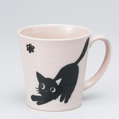和食器 MUMUピンク 軽量 マグカップ カフェ コーヒー 紅茶 珈琲 お茶 オフィス おうち 食器 陶器 おしゃれ うつわ