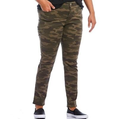 リーバイス レディース デニムパンツ ボトムス Levi's 311 Plus Size Camo Print Shaping Skinny Jeans Soft Tanzanite Camo
