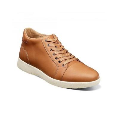 Stacy Adams ステーシーアダムス メンズ 男性用 シューズ 靴 ブーツ チャッカブーツ Harlow Cap Toe Mid Lace-Up Sneaker - Natural