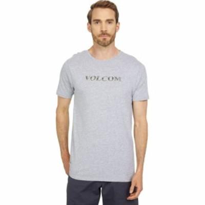 ボルコム Volcom メンズ Tシャツ トップス Perf Short Sleeve Tee Heather Grey