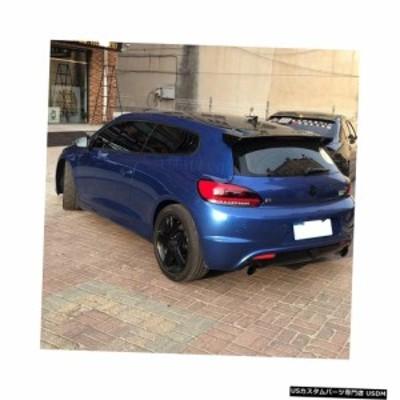 輸入カーパーツ Volkswagen Scirocco 2009-2018用2pcs ABSドアウィンドウルーバーフレームウィンド