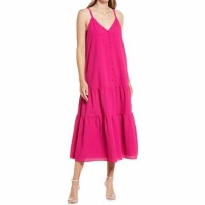テッドベーカー TED BAKER LONDON レディース ワンピース サンドレス Aライン ワンピース・ドレス Tiered Sundress Dress Deep Pink