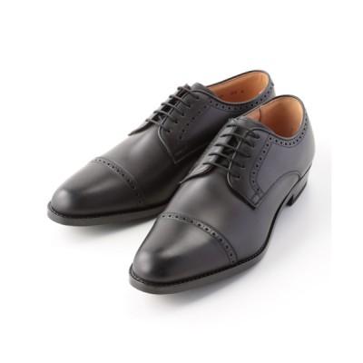 [靴]リーガル 紳士靴 外羽根ストレートチップ 115S ブラック 25.5