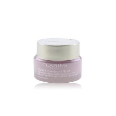 クラランス マルチ-アクティブ デイ ターゲット ファイン ライン アンチオキシダント クリーム SPF 20 - All Skin Types 50ml