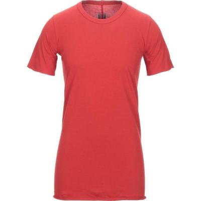 リック オウエンス RICK OWENS メンズ Tシャツ トップス t-shirt Red