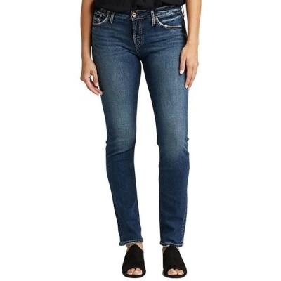 シルバー ジーンズ レディース デニムパンツ ボトムス Avery High Rise Straight Jeans