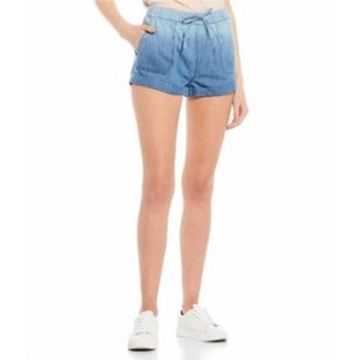 ボルコム レディース ハーフパンツ・ショーツ ボトムス Sunday Strut Elastic Waist Shorts Blue Comb