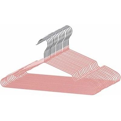 ハンガー すべらない PVC特殊ラバー加工 20本組 セット 洗濯ハンガー 衣類ハンガー 多機能ハンガー 滑り止め 変形にくい 物干し ...