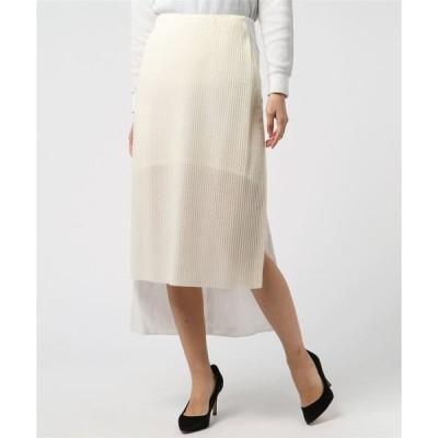 スカート AALTO(アールト) プリーツタイトスカート