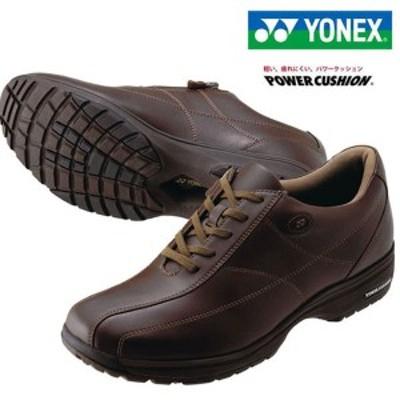 即納可★ 【YONEX】ヨネックス ヨネックス メンズ パワークッション ウォーキングシューズ SHWMC41 (040)ダークブラウン(shw-mc41-040-